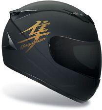4 x Gold Suzuki hayabusa Motorrad Aufkleber für Helm moto sticker tank decals