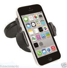 CAR HOLDER CRADLE SUCTION MOUNT KIT 360 DEGREES FULL ROTATE FOR WHITE IPHONE 5C