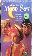 What the Moon Saw (VHS) 1990 family fantasy - drama