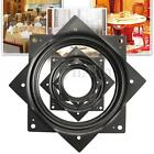 Lazy Susan Rotating Bearing Turntable Square Swivel Plate Display Spinner Base