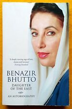Daughter of the East: An Autobiography by Benazir Bhutto used paperback 2008