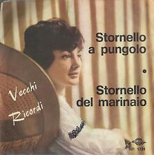 DISCO 45 Giri  Sergio Mauri -  Vecchi Ricordi
