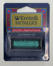 Kreinik Blend - 55Yd Spool of #029 Turquoise Metallic Blending Filament