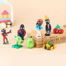 8x Plants vs. Zombies Minifigures Pea Shooter vs. Zombies Decoration Toys 3-8cm