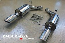 Beluga Racing 11-14 Ford Mustang V6 3.7L Performance AxleBack Muffler Exhaust