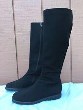 Stuart Weitzman GoreTex Women's US 5.5 Black Knee High Boots EUC