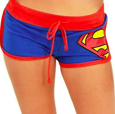 NWT SUPERMAN BOOTY SHORTS DC COMICS size: XL