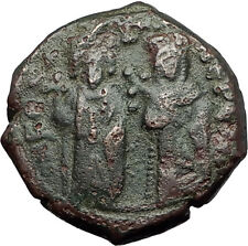 PHOCAS & Queen Leontina 603AD Antioch Authentic Ancient Byzantine Coin i59454