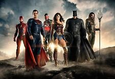 JUSTICE LEAGUE (2017) MOVIE POSTER DS 2 Sided ADVANCE 40x27 in.