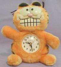 1981 GARFIELD PLUSH ALARM CLOCK TOY 1978 SOAP BAR AVON FAT CARTOON CAT VTG DAKIN
