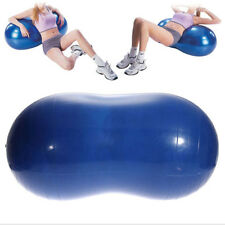 New Yoga Ball Peanut Shape Fitness Exercise Workout Gym Blue 90x45cm