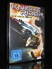 DVD KNIGHT RIDER - DIE NEUE SERIE (2010) - 4 DISC-Box-Set - Michael Knight * NEU