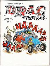 DRAG CARTOONS #5 - 1964 - Alex Toth, Russ Manning, Warren Tufts