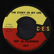 BIG AL DOWNING: The Story Of My Life 45 Soul