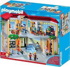 Playmobil #4324 Elementry School Set New Sealed