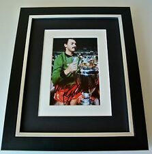 Bruce Grobbelaar SIGNED 10X8 FRAMED Photo Autograph Display Liverpool & COA