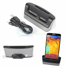 Dual Docking Station USB Battery Charger Cradle for Samsung Galaxy Note 3 N9000