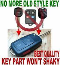 FORD EXPLORER SPORT TRAC FLIP CHIP KEY KEYLESS ENTRY TRANSMITTER REMOTE FOB W