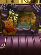 WINNIE THE POOH SILVER PLATED FRAME NUOVO di zecca