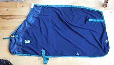 78 Weatherbeeta Fleece Cooler Horse Dress Sheet Blanket Liner Blue (#190)
