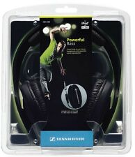 Sennheiser HD 202 II Professional Headphones (Black) Powerful Bass New