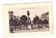 JERSEY COFFEE CARD--UNDER THE LIME TREES IN   BERLIN GERMANY-DAYTON SPICE