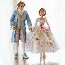 Disney Belle & Prince Limited Edition Doll Set Beauty and the Beast New Platinum