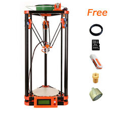 2017 Delta Flsun 3D Printer Kossel Reprap 1 Roll Filament Hot Bed+Auto Leveling