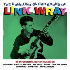 THE RUMBLING GUITAR SOUND OF LINK WRAY - 38 GUITAR CLASSICS (NEW SEALED 2CD)