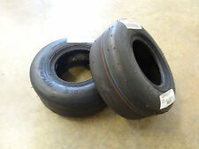 TWO New 13X5.00-6 Carlisle Smooth Slick Tires 4 ply 5120211 w/free stems