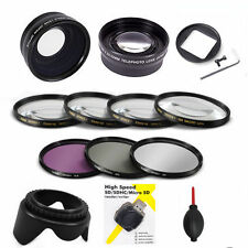 WIDE ANGLE LENS +MACRO KIT + TELEPHOTO ZOOM + FILTER KIT FOR GOPRO HERO4 S