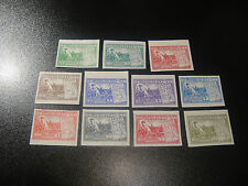 CHINA Liberation 1949 Sc#5L32-42 Victory Hwai-Hai Imperf Set MNH RARE