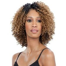 Equal Synthetic Diagonal Part Flower Blossom Lace Front Wig