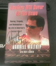 Signed 1st ed SUNDAYS WILL NEVER BE THE SAME: RACING, TRAGEDY, AND REDEMPTION