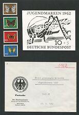 """BUND FOTO-ESSAY 376/79 JUGEND 1962 UNVERAUSG. MOTIV """"HEUSCHRECKE"""" PROOF e424"""