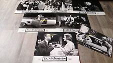 louis de funes LA BELLE AMERICAINE ! rare 7 photos cinema lobby cards 1961 cars