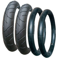 QUINNY SPEEDI TYRE AND TUBE SET REAR WHEELS