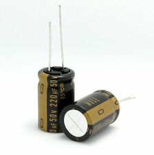 4PCS Japan NICHICON 220uF/50V Most High-end MUSE KZ Audio Electrolytic Capacitor