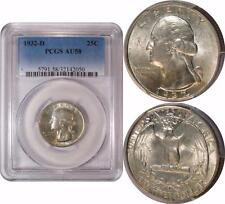 1932-D Washington Quarter ** PCGS AU58 ** Key Date!!!