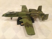 A-10 THUNDERBOLT II BD/79-143 DIECAST 1:72 WITH STAND, MILITARY MISSILE ATTACK