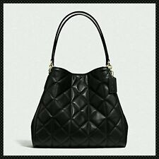 COACH Phoebe Shoulder Bag in** QUILTED** Leather Tote $525 F36696 **Exquisite**