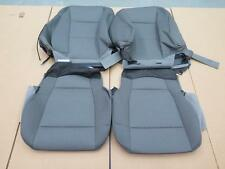 2015 2016 Ford F150 truck OEM front seat cover set Gray cloth