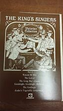 The King's Singer's: Victorian Collection: Music Score (LQ1)
