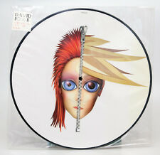 """** DAVID BOWIE REBEL NEVER GETS OLD 12"""" PICTURE VINYL DISC RECORD 2004 - MINT **"""