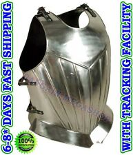 Muscle breast plate curiass Medieval greek armour costume