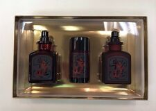 LUCKY NUMBER No # 6 SIX Lucky Brand 3 Pcs Men 3.4oz EDT&3.4 After Shave& Deo Set