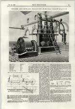 1897 Bradford Electric Light Station Engine And A Dynamo
