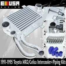 91-95 Toyota MR2 Turbo Coupe 2D 2.0L Turbocharged 3SGTE Intercooler +Piping Kits