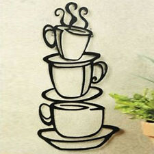 2014 Coffee House Cup cafe vinyl wall art decal stickers Kitchen Decor Removable
