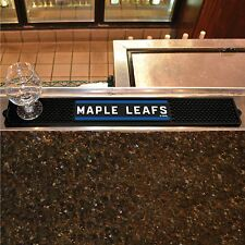 "Toronto Maple Leafs 3.25"" x 24"" Bar Drink Mat - Man Cave, Bar, Game Room"
